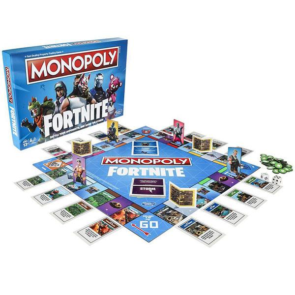 Купить Hasbro Monopoly E6603 Монополия Фортнайт, Настольные игры Hasbro Monopoly