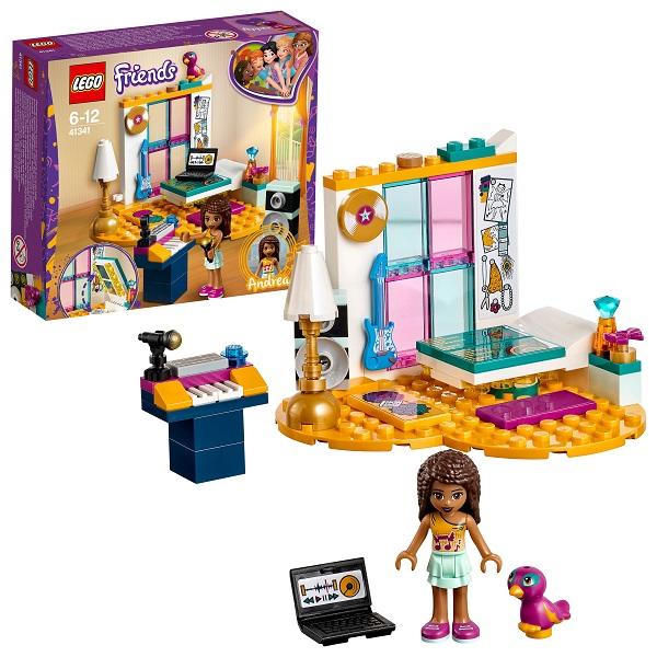 Купить Lego Friends 41341 Конструктор Лего Подружки Комната Андреа, Конструкторы LEGO