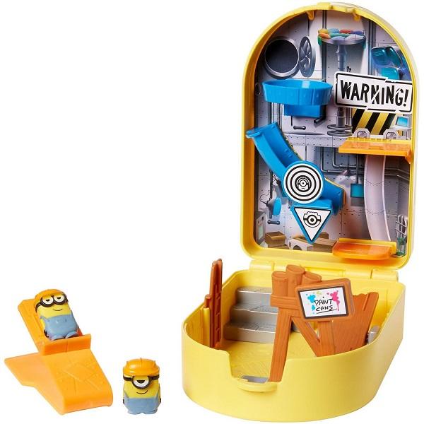 Купить Mattel Minions GMD86 Переносной игровой набор Катапульта для миньонов Стройка, Игровой набор Mattel Minions