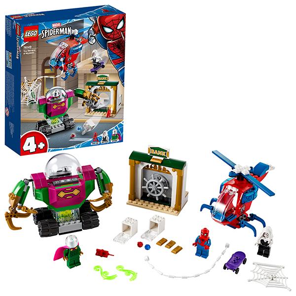 Купить LEGO Super Heroes 76149 Конструктор ЛЕГО Супер Герои Угрозы Мистерио, Конструкторы LEGO