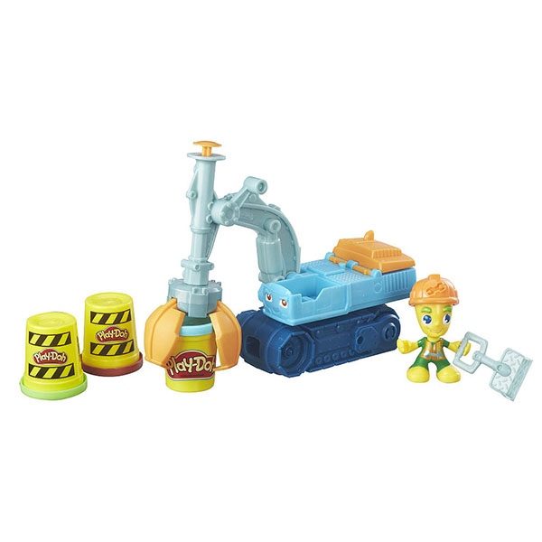 Купить Hasbro Play-Doh B6283 Экскаватор, Пластилин Hasbro Play-Doh