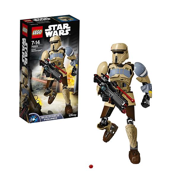 Lego Star Wars 75523 Конструктор Лего Звездные Войны Штурмовик со Скарифа, арт:145758 - Звездные войны, Конструкторы LEGO