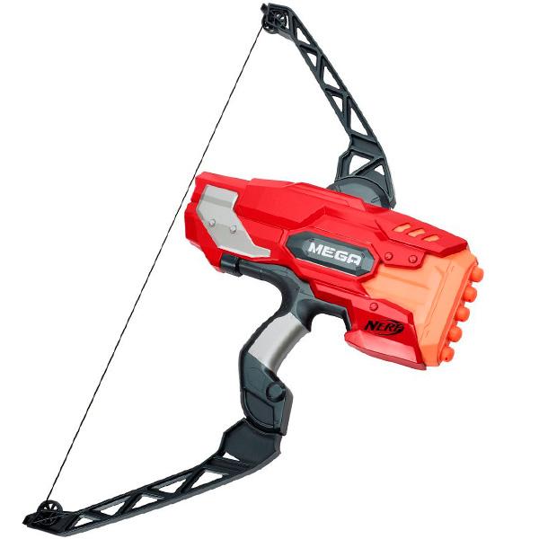 Купить Hasbro Nerf A8768 Нерф Бластер Мега Лук, Игрушечное оружие Hasbro Nerf
