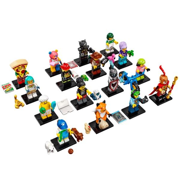 Конструктор LEGO — LEGO Minifigures 71025 Конструктор ЛЕГО Минифигурки LEGO®, серия 19