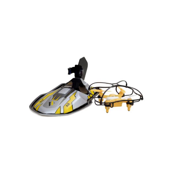 Купить HK Industries A2 Квадрокоптер 2 в1 с дрифт платформой, Радиоуправляемые игрушки HK Industries