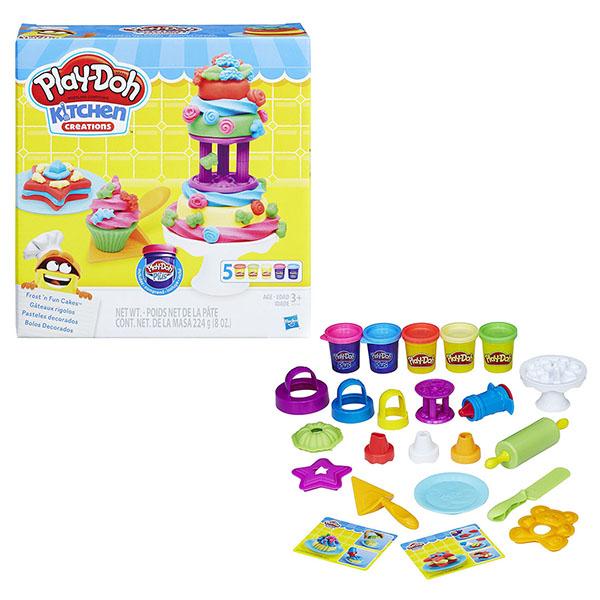 Купить Hasbro Play-Doh B9741 Игровой набор Для выпечки , Пластилин Hasbro Play-Doh