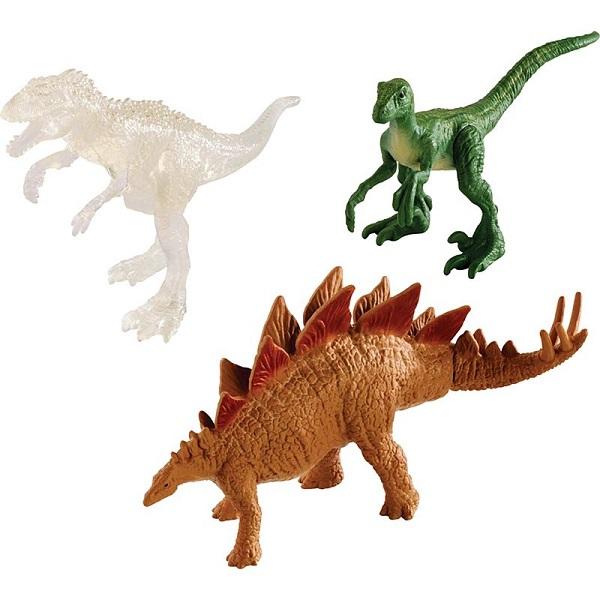 Купить Mattel Jurassic World FPN72 Мини-динозавры - упаковка из 3-х, Игровые наборы и фигурки для детей Mattel Jurassic World