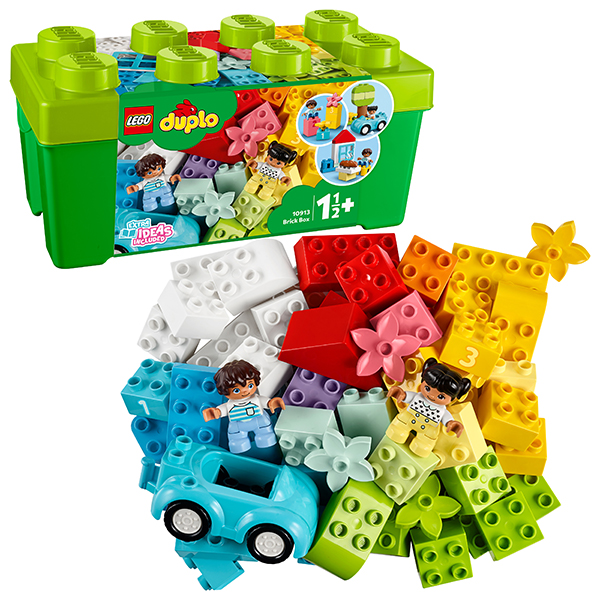 Купить LEGO DUPLO 10913 Конструктор ЛЕГО ДУПЛО Коробка с кубиками, Конструкторы LEGO