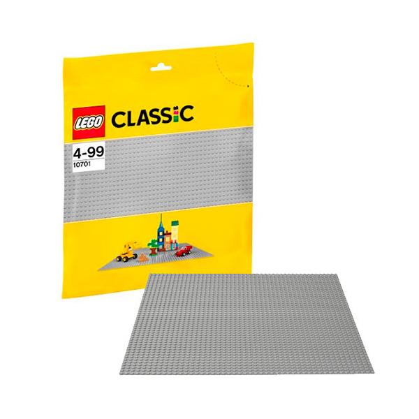 Купить LEGO Classic 10701 Конструктор ЛЕГО Классик Строительная пластина серого цвета, Конструктор LEGO