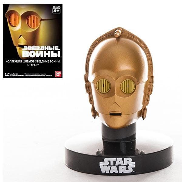 Купить Star Wars Bandai 84635 Звездные Войны Шлем Пилот C3PO 6, 5 см, Фигурка Star Wars Bandai