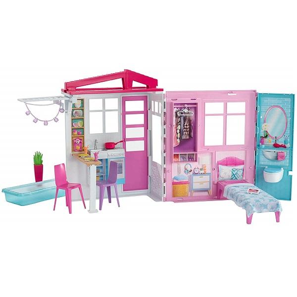 Mattel Barbie FXG54 Барби Раскладной домик - Куклы и аксессуары
