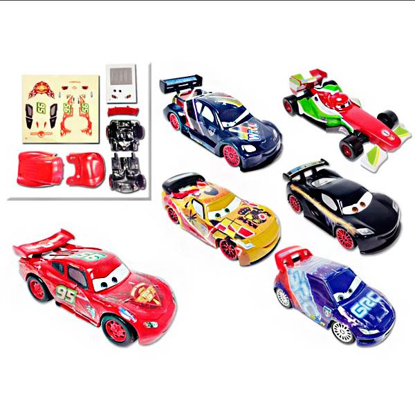 Купить TOMY Minifigures T88641 Томи Минифигурки Тачки Неоновые Гонщики Сборные Фигурки (в ассортименте), Игровой набор TOMY Minifigures