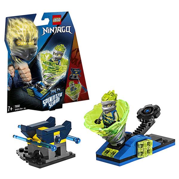 Купить LEGO Ninjago 70682 Конструктор ЛЕГО Ниндзяго Бой мастеров кружитцу - Джей, Конструкторы LEGO