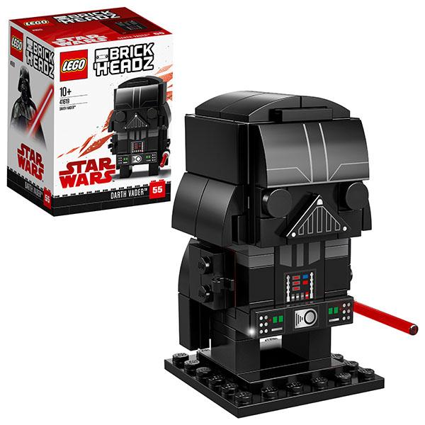 Купить Lego BrickHeadz 41619 Конструктор Лего БрикХедз Дарт Вейдер, Конструкторы LEGO