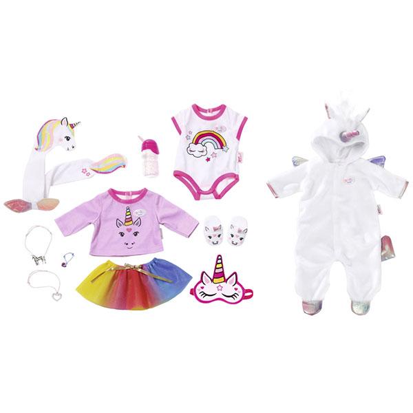 Купить Zapf Creation Baby born 826-201 Бэби Борн Набор одежды Сказочный Единорог , 43 см, Аксессуары для куклы Zapf Creation