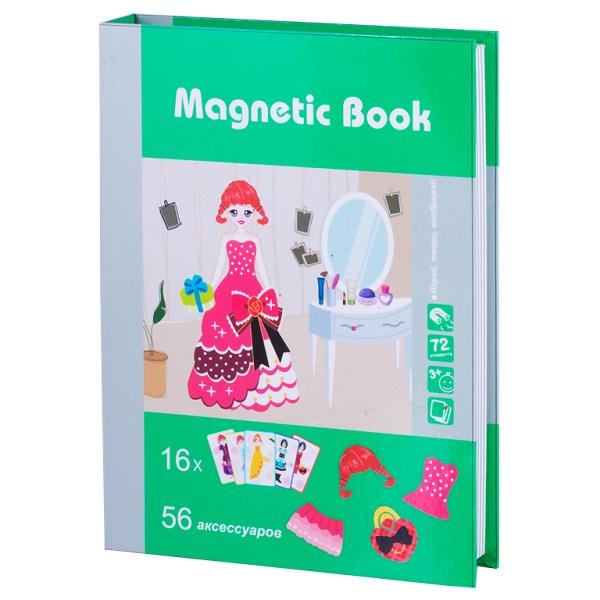 Купить Magnetic Book TAV025 Развивающая игра На бал , Настольные игры Magnetic Book