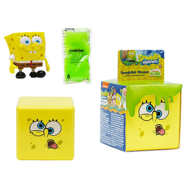 Купить SpongeBob EU690200 Игровой набор со слизью (в ассортименте), Игровые наборы и фигурки для детей SpongeBob