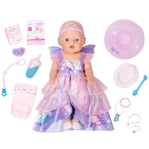 Zapf Creation Baby born 824-191 Бэби Борн Кукла Интерактивная Волшебница, 43 см, арт:149192 - Baby Born, Куклы и аксессуары