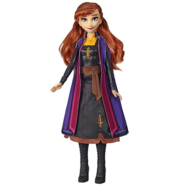 Купить Hasbro Disney Princess E6952/E7001 ХОЛОДНОЕ СЕРДЦЕ 2 Анна в сверкающем платье, Куклы и пупсы Hasbro Disney Princess