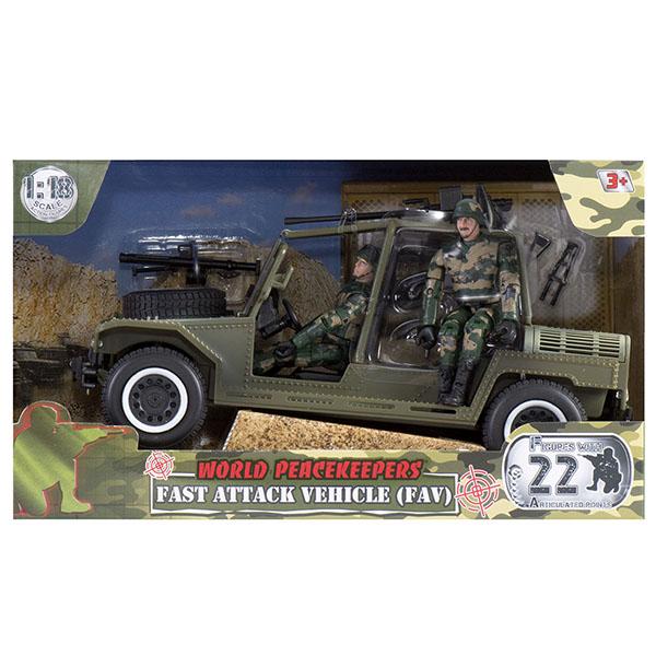 Купить World Peacekeepers MC77038 Игровой набор Группа быстрого реагирования 2 фигурки, 1:18, Игровые наборы и фигурки для детей World Peacekeepers