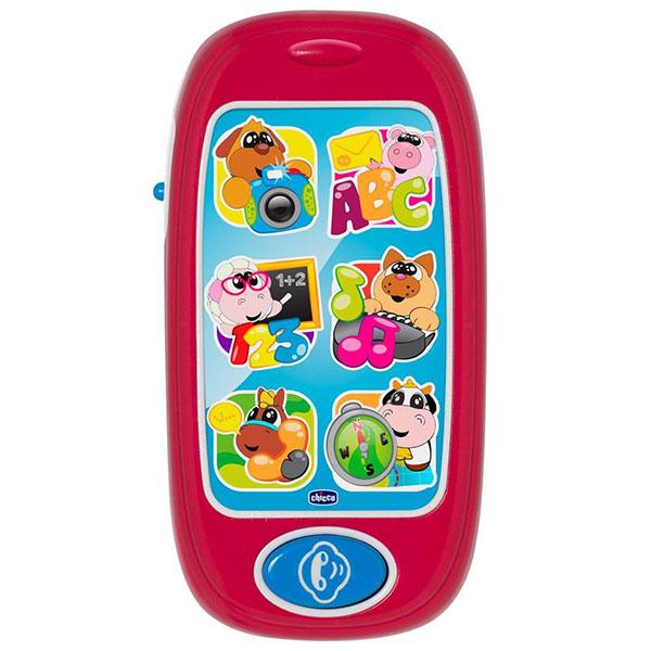 Купить CHICCO TOYS 7853 Игрушка музыкальная Говорящий Смартфон АВС, Музыкальная игрушка CHICCO TOYS