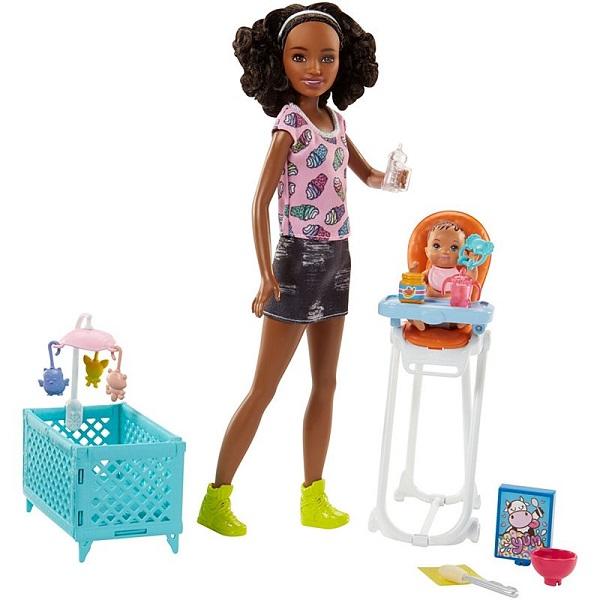 Купить Mattel Barbie FHY99 Барби Набор Няня , Куклы и пупсы Mattel Barbie