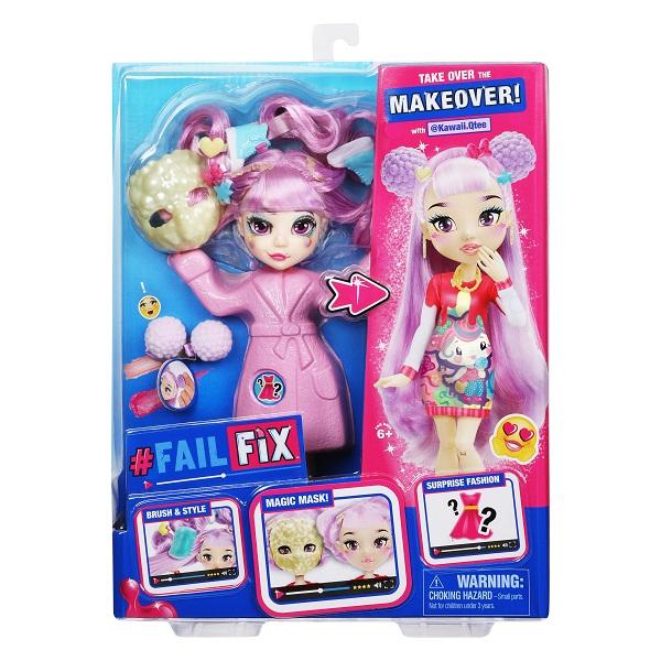 FailFix 38189F ФейлФикс Игровой набор кукла 2 в1 Кавай Кьюти с аксесуарами по цене 2 999