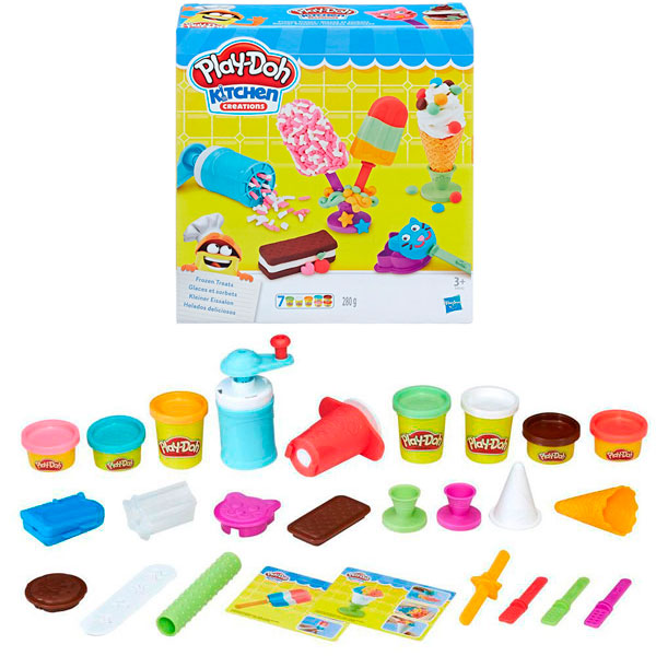 Купить Hasbro Play-Doh E0042 Игровой набор Создай любимое мороженое , Игровой набор Hasbro Play-Doh