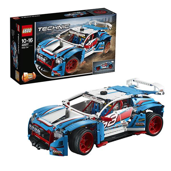 Купить LEGO Technic 42077 Конструктор ЛЕГО Техник Гоночный автомобиль, Конструкторы LEGO