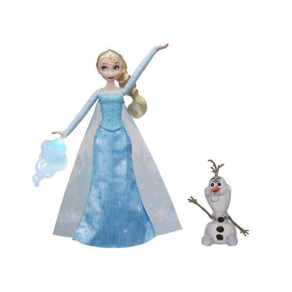 Hasbro Disney Princess E0085 Кукла Эльза и волшебство, арт:155225 - Холодное сердце, Куклы и аксессуары