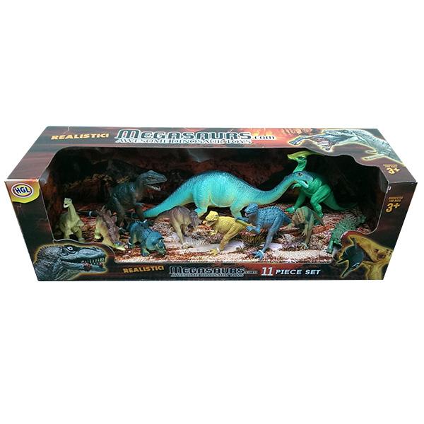 Набор фигурок Megasaurs (HGL) Megasaurs SV12928 Мегазавры Игровой набор динозавров 11 штук в ассортименте SV12928