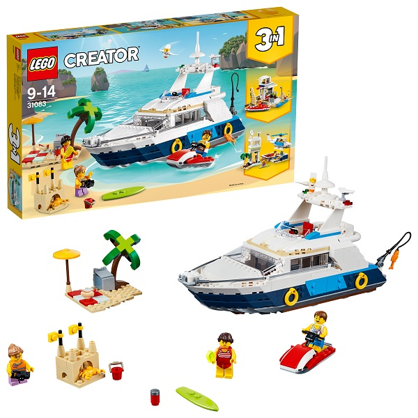 Lego Creator 31083 Конструктор Лего Криэйтор Морские приключения, арт:154805 - Криэйтор, Конструкторы LEGO