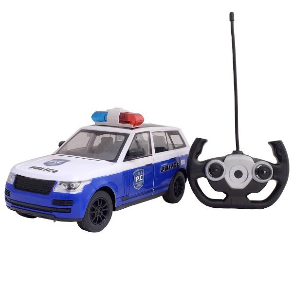 Купить HK Industries 666-702JA Полицейская р/у машина (свет, двери открываются) (акк+USB), Радиоуправляемая машинка HK Industries