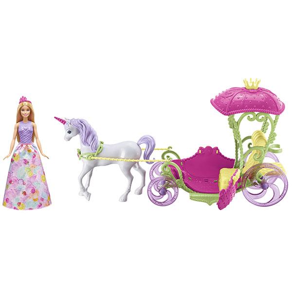 Купить Mattel Barbie DYX31 Барби Конфетная карета и кукла, Кукла Mattel Barbie