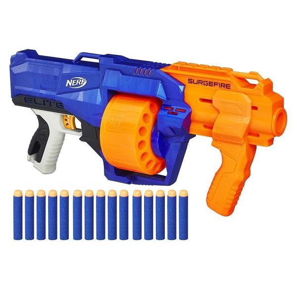 Купить Hasbro Nerf E0011 Нерф Бластер Элит Сёрджфайр, Игрушечное оружие и бластеры Hasbro Nerf