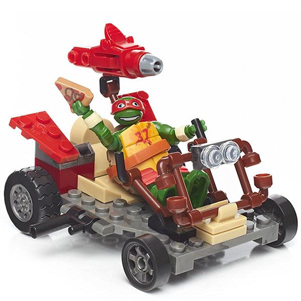 Купить Mattel Mega Bloks DPF60 Мега Блокс Черепашки Ниндзя: лихие гонщики, Конструкторы Mattel Mega Bloks