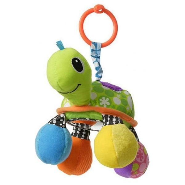 """Подвески для малышей Infantino 5054 Подвесная игрушка """"Черепашка"""" (зеленая) фото"""