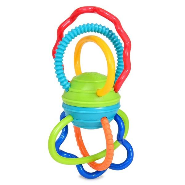 Купить Oball 81508 Развивающая игрушка Разноцветная гантелька , Развивающие игрушки для малышей Oball