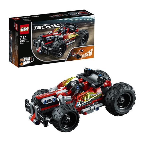 Купить Lego Technic 42073 Конструктор Лего Техник Красный гоночный автомобиль, Конструкторы LEGO