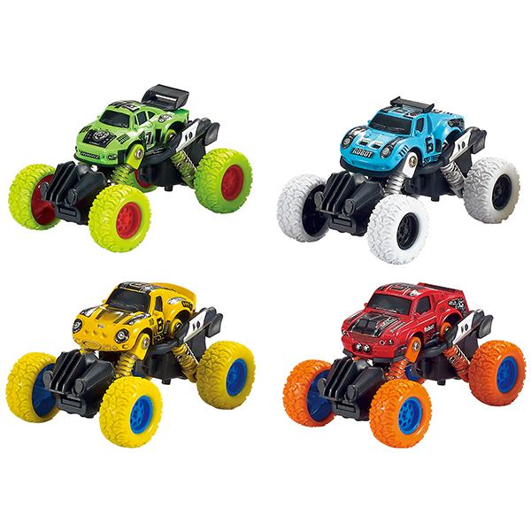 Купить Wincars YK-2207 Машинка с большими колёсами инерционная металлическая 11 см, (в ассортименте), Игрушечные машинки и техника ТМ Wincars