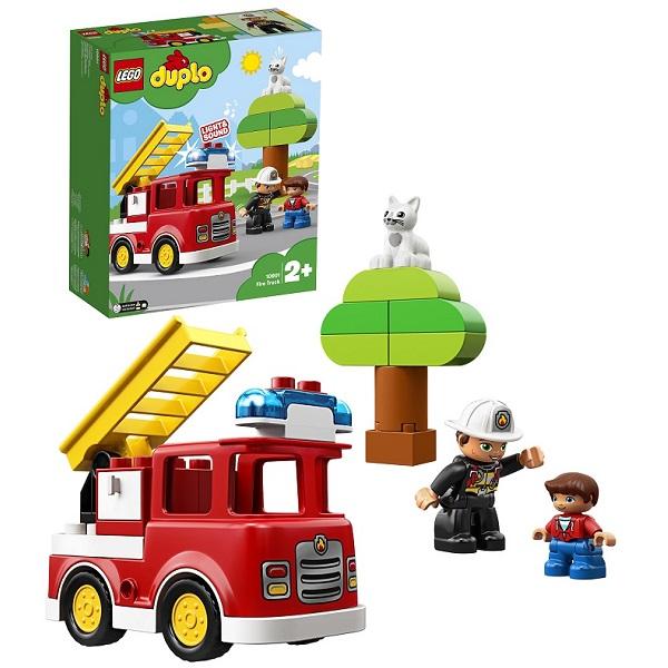 Купить Lego Duplo 10901 Конструктор Лего Дупло Пожарная машина, Конструкторы LEGO