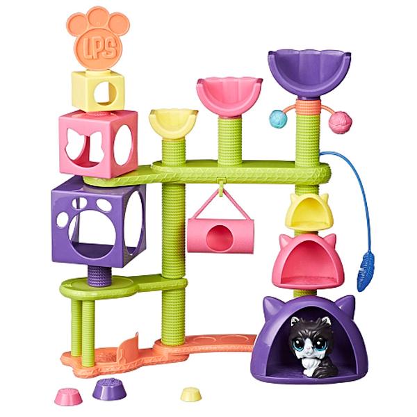 Hasbro Littlest Pet Shop E2127 Литлс Пет Шоп Домик для котят, арт:154895 - Мини наборы, Игровые наборы