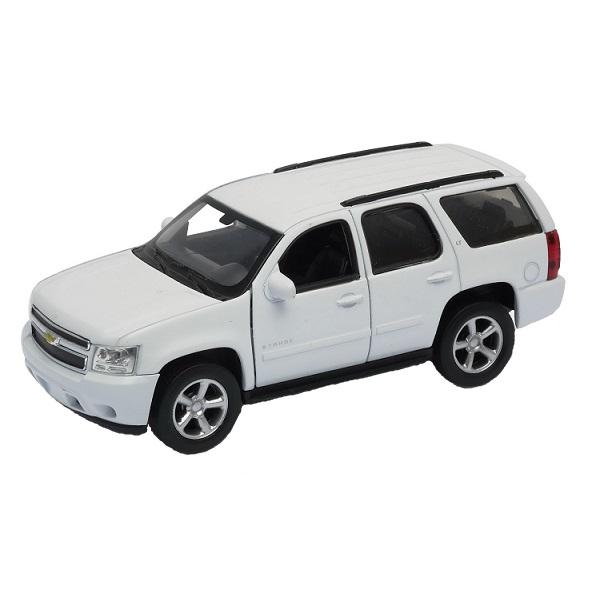 Купить Welly 43607 Велли Модель машины 1:34-39 Chevrolet Tahoe, Машинка инерционная Welly