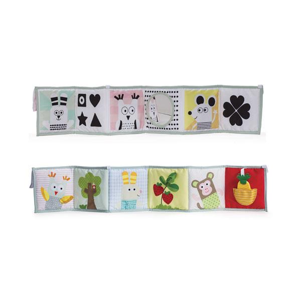 """Развивающие игрушки для малышей TAF TOYS Taf Toys 12025 Таф Тойс """"Развивающая книжка"""" с клипсами по цене 1 219"""