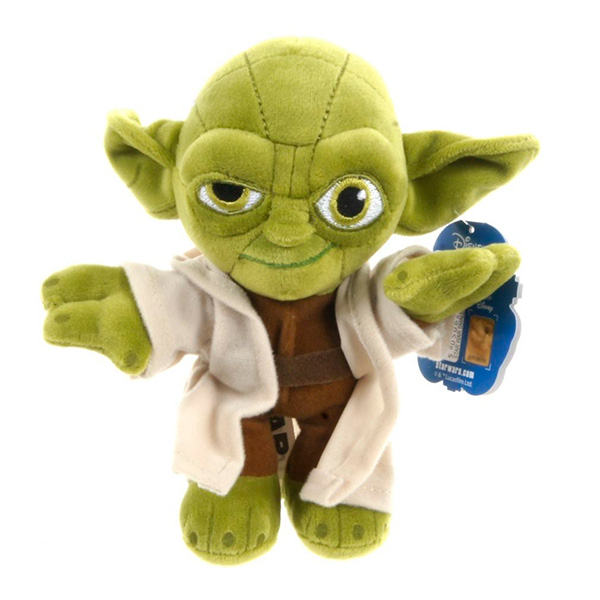 Disney Star Wars 1400617 Дисней Звездные Войны Йода, 30 см, арт:121079 - StarWars, Мягкие игрушки