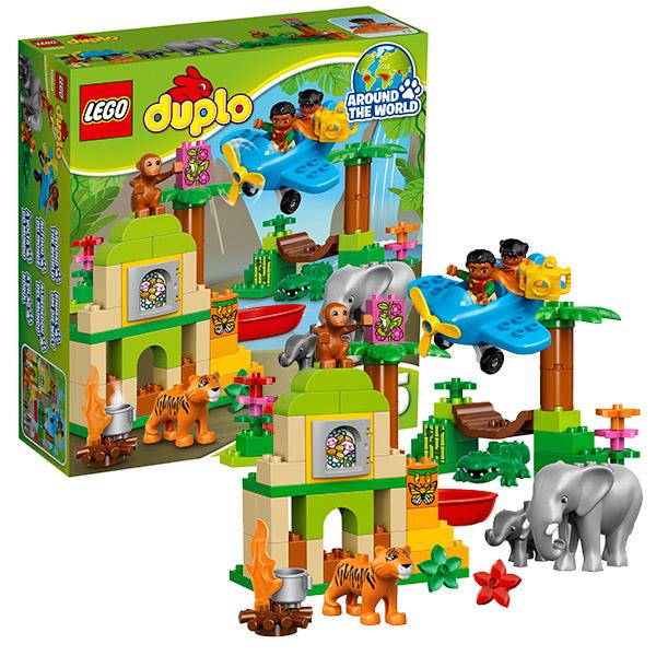 Lego Duplo 10804 Конструктор Лего Дупло Вокруг света: Азия