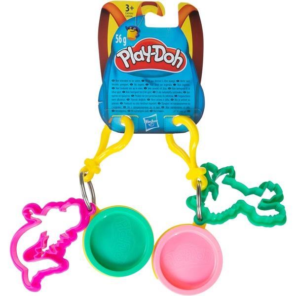 Купить Hasbro Play-Doh E4996 Игровой набор Hasbro Play-Doh Игровой набор (масса для лепки) с 2-мя брелками, Игровые наборы Hasbro Play-Doh