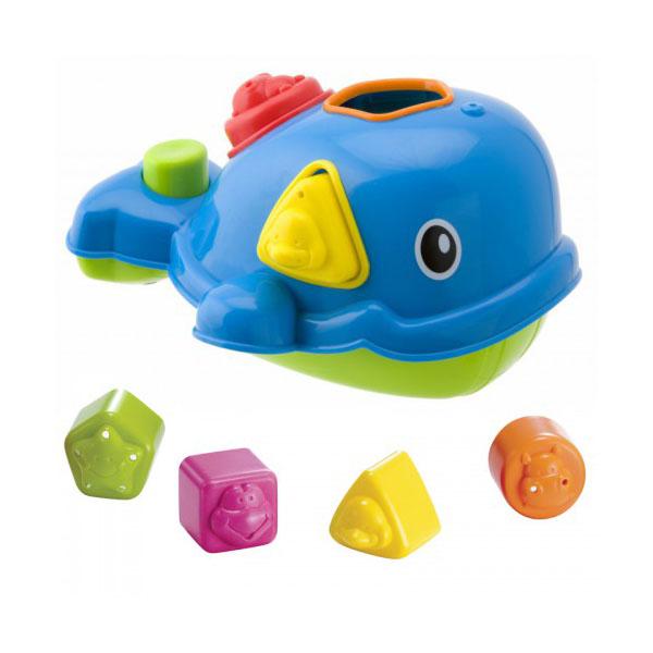 Купить ALEX 837W Игрушка-сортировка Кит для ванны, Развивающие игрушки для малышей ALEX