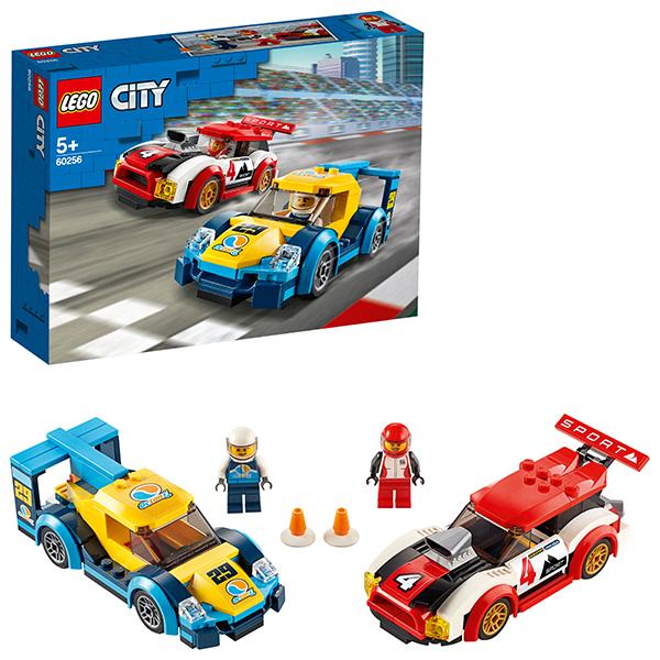 Конструкторы LEGO City 60256 Конструктор ЛЕГО Город Turbo Wheels Гоночные автомобили фото