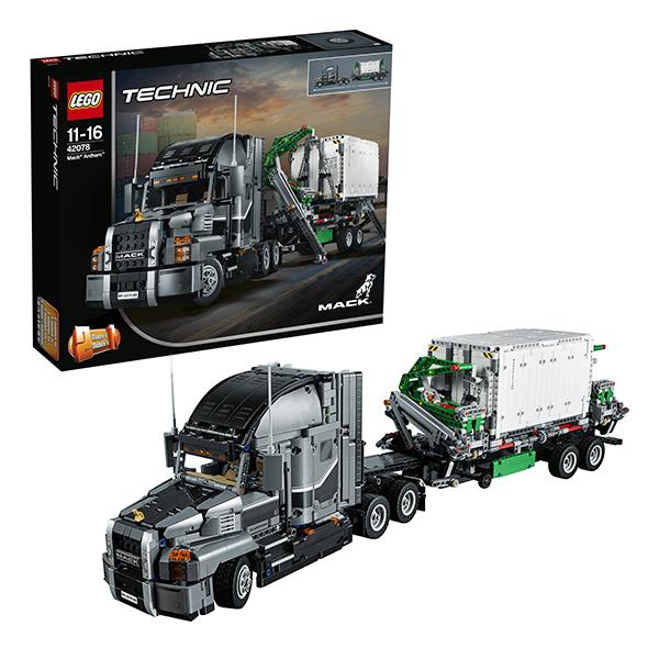 Купить LEGO Technic 42078 Конструктор ЛЕГО Техник Грузовик MACK, Конструкторы LEGO